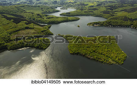 Stock Image of Rur Reservoir, Rur Dam, Simmerath, Eifel, North.