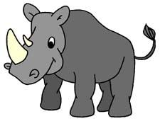 Rhino Clipart.
