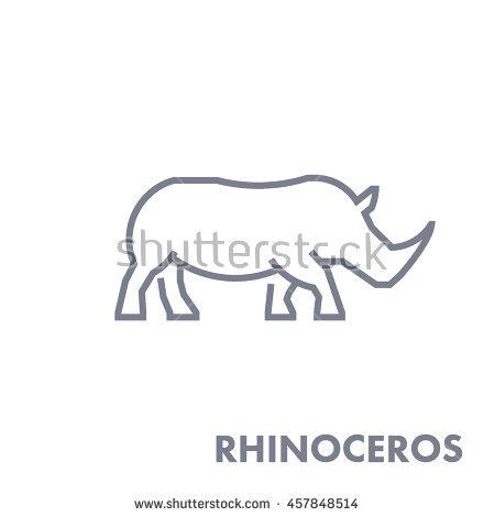 Rhino Stock Images, Royalty.