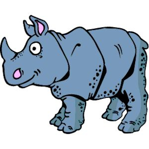 Rhino clipart, cliparts of.