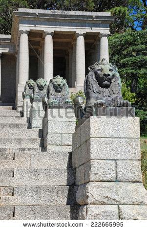 Rhodes Memorial Stock Photos, Royalty.