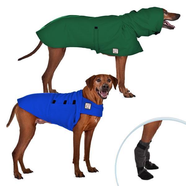 Rhodesian Ridgeback Winter Gear, Raincoat, Winter Coat.