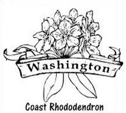 Free Coast Rhododendron Clipart.