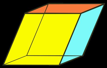 Rhomboeder.