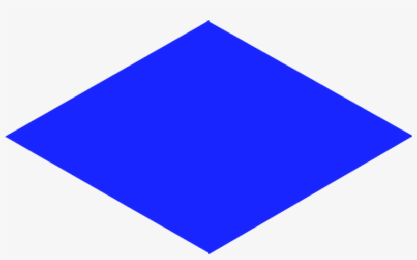 Rhombus Shape Clipart.