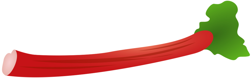 Rhubarb Clipart.