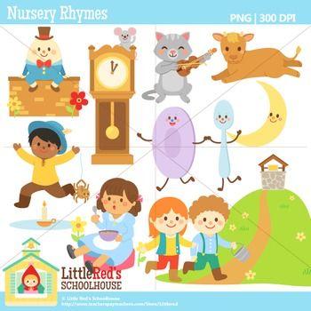 Nursery Rhyme Clipart.