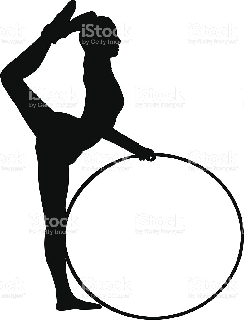 Rhythmic Gymnastics stock vector art 165625421.