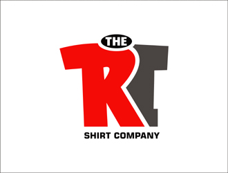 The RI Shirt Company (The RI Store) logo design.