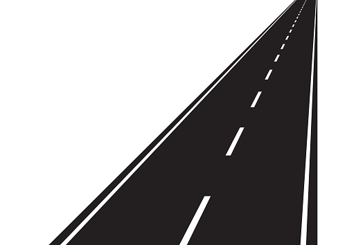 Road clipart vector.