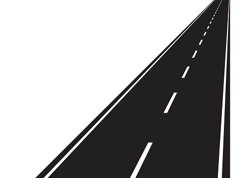 Road clipart vector.