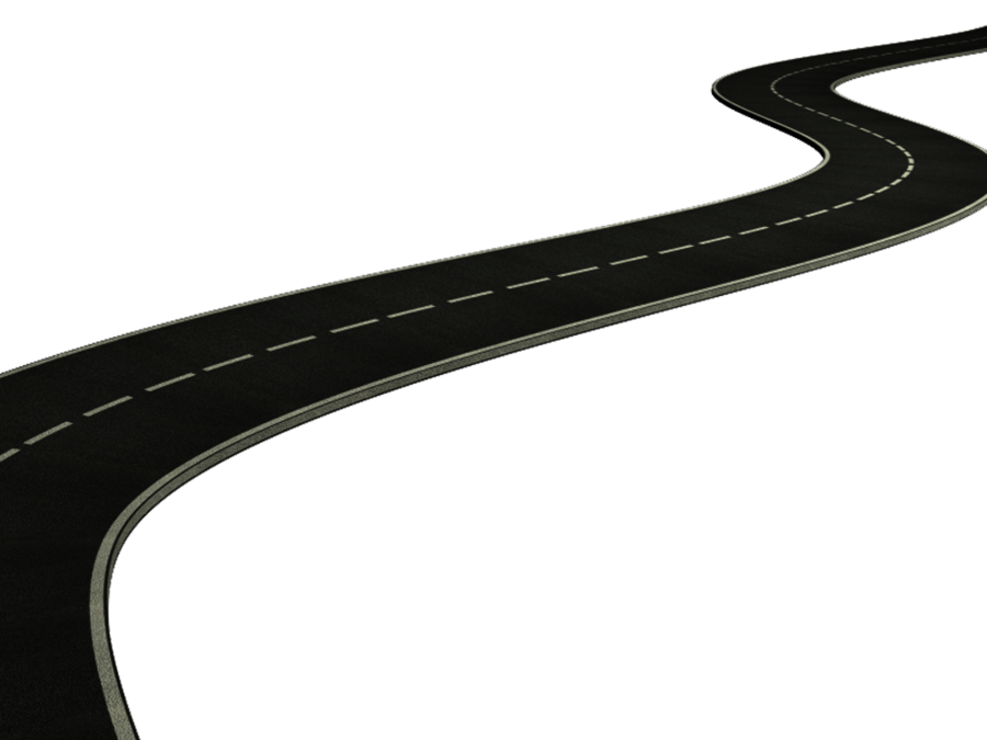Curvy Highway Clipart.