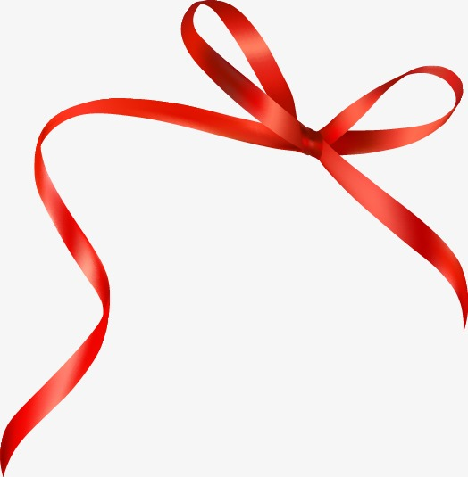 Red Ribbon Bow, Red, Bow, Ribbon PNG and Vector with.