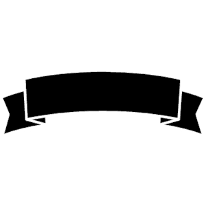 Black Ribbon Banner Clip Art.