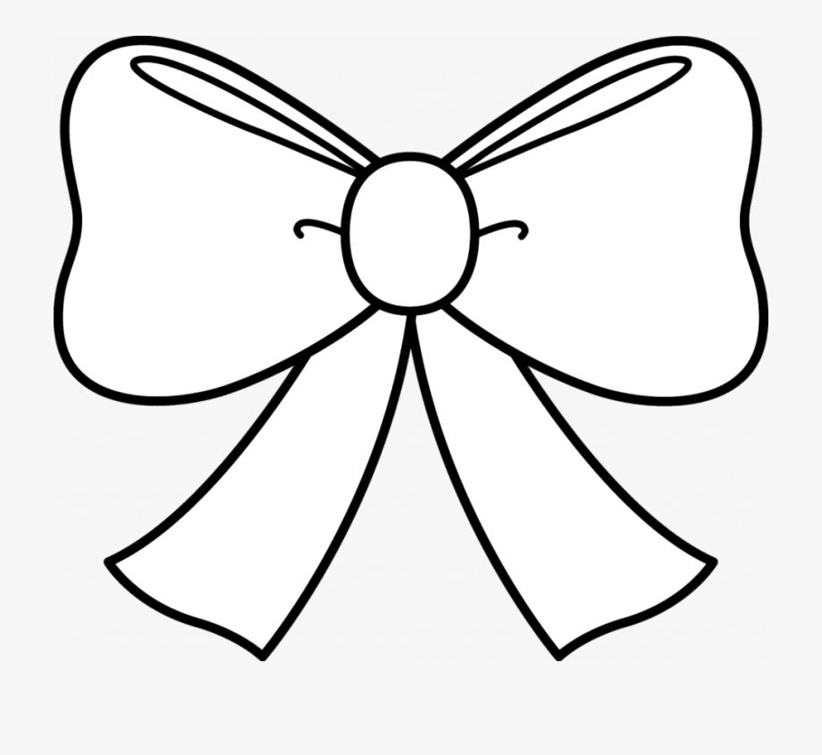 Clip Art Ribbon Bow Drawings.