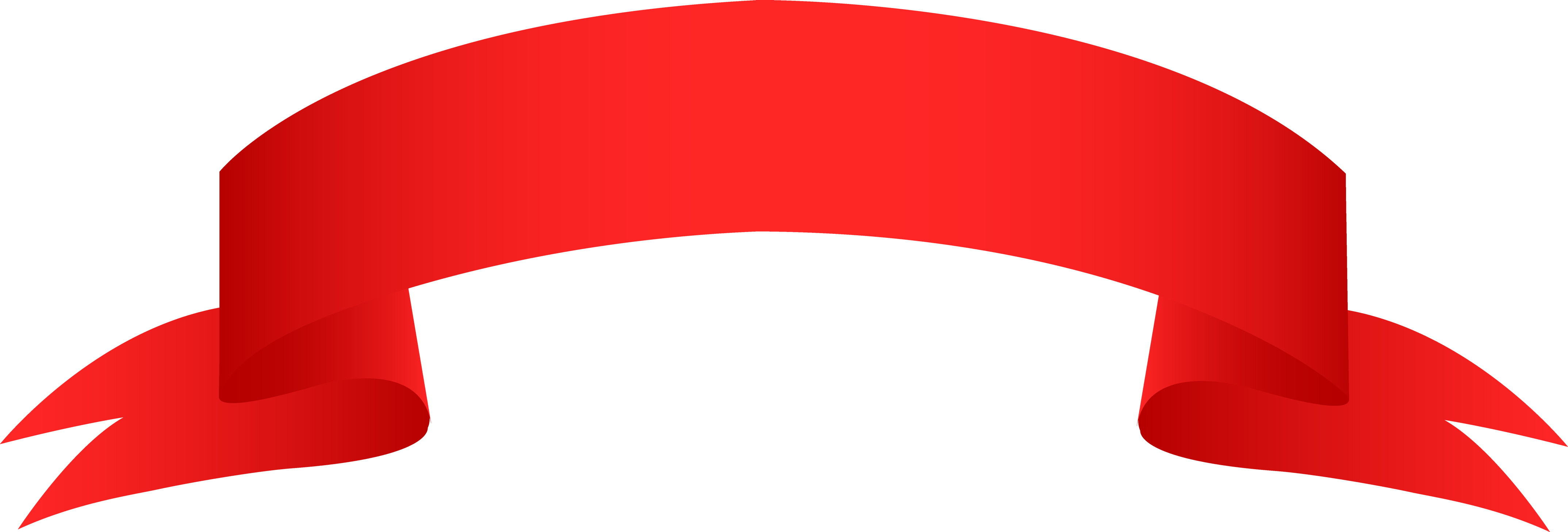 Red Ribbon PNG Image.