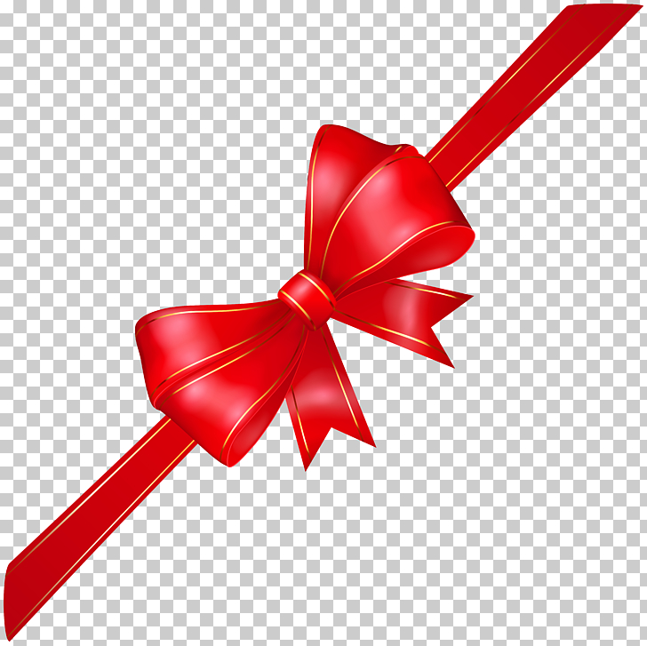 Ribbon , Red Corner Bow Transparent , red ribbon logo PNG.