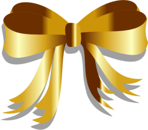 Gold Ribbon Clipart.