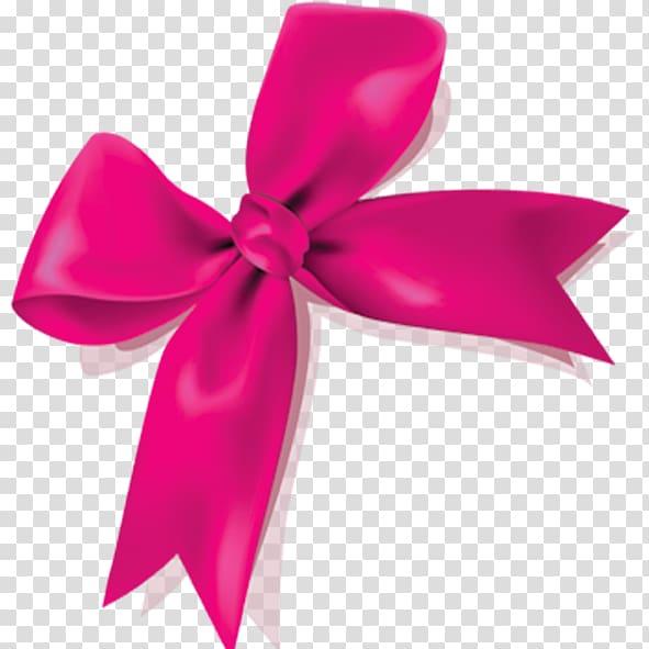 Pink ribbon, Pink Ribbon Icon, Pink bow transparent.