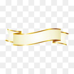 Gold Ribbon PNG Images, Download 319 Gold Ribbon PNG.