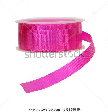 Ribbon Roll Isolated Stock Photos, Royalty.