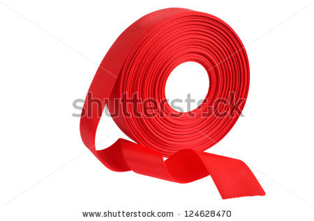 Satin Ribbon Roll Stock Photos, Royalty.