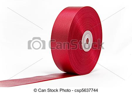 Stock Photo of Ribbon red carpet.