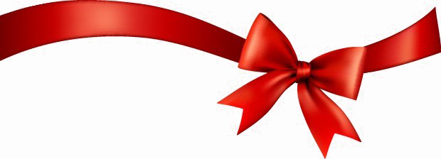 Red Ribbon Transparent Background Vector, Clipart, PSD.