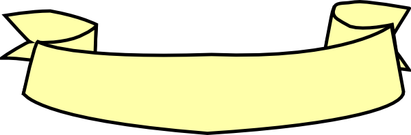 Yellow Ribbon Banner Clip Art at Clker.com.