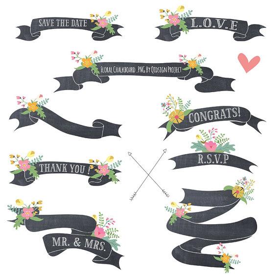 Ribbon Tumblr Clipart.