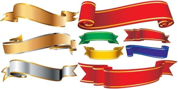 Ribbon banner clip art free vector download (211,493 Free vector.