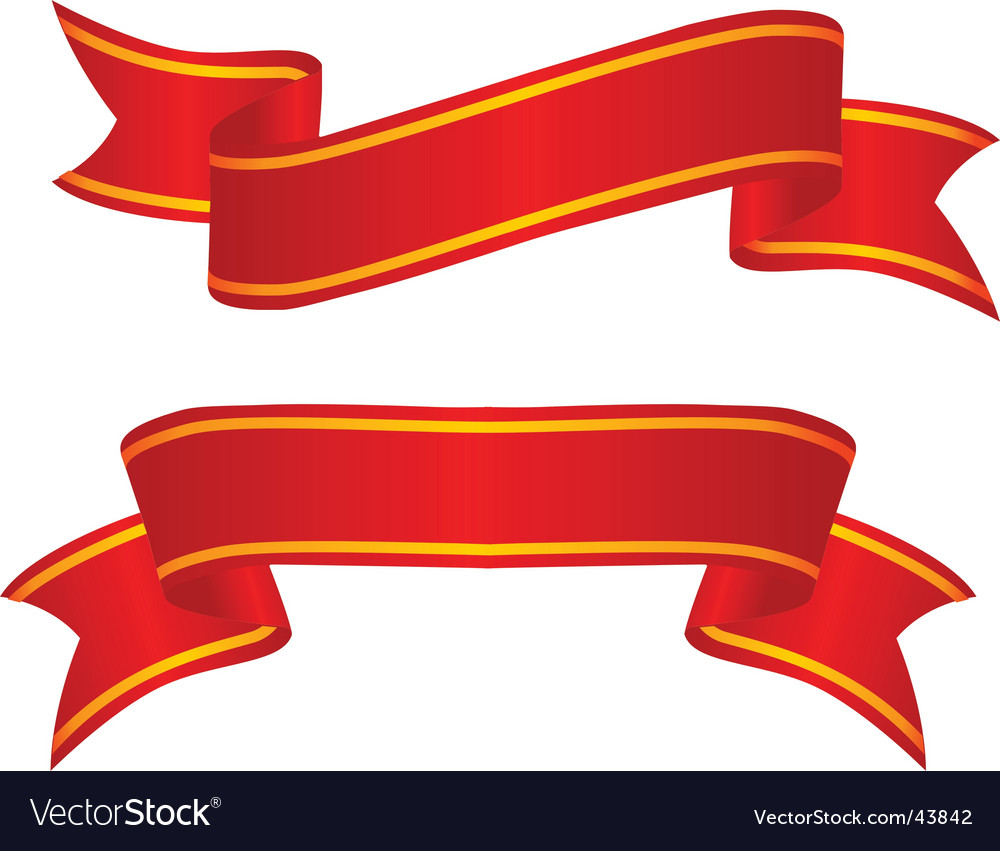 Ribbon Vector Image #90501.