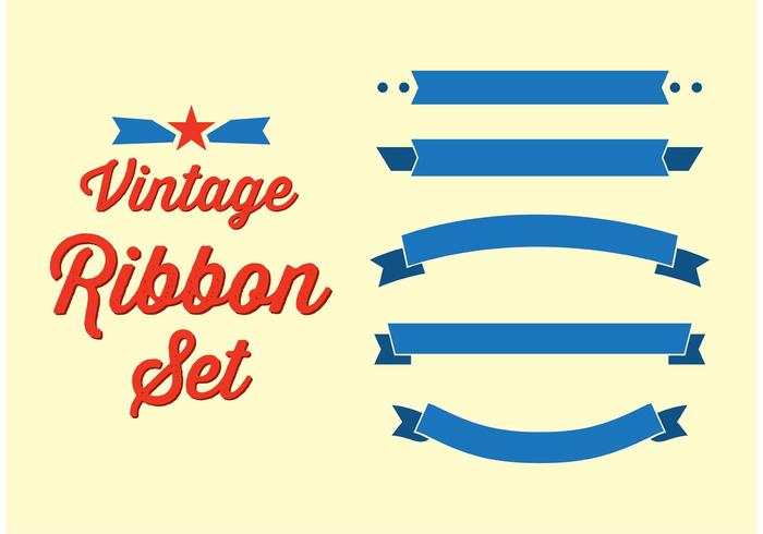 Vintage Ribbon Set.