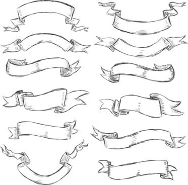 Vintage ribbon vector free free vector download (12,507 Free.