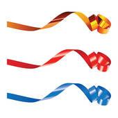 Curling Ribbon Clipart.