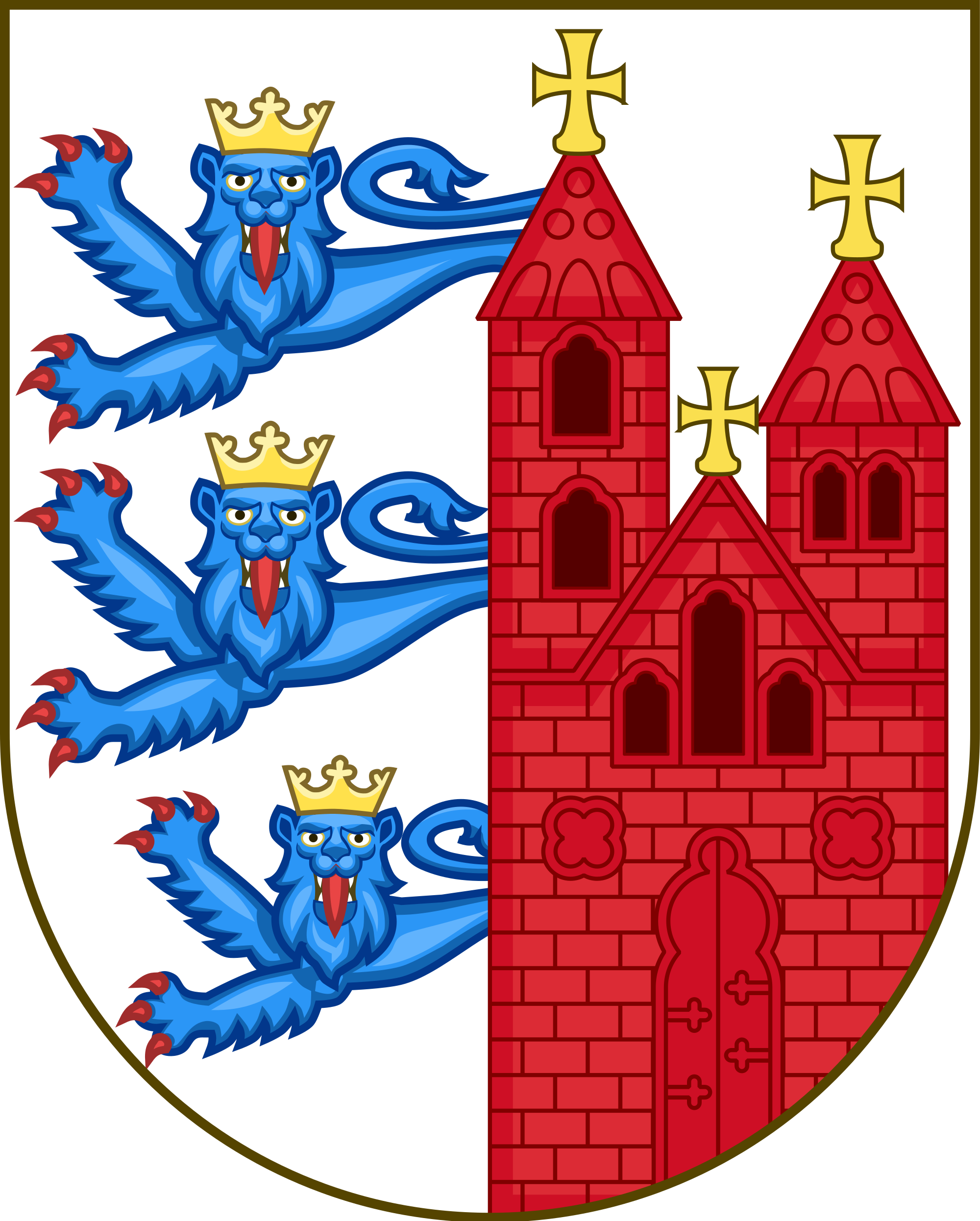 File:Coat of arms of Ribe.svg.