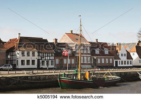 Stock Photo of City of Ribe, Denmark k5005194.