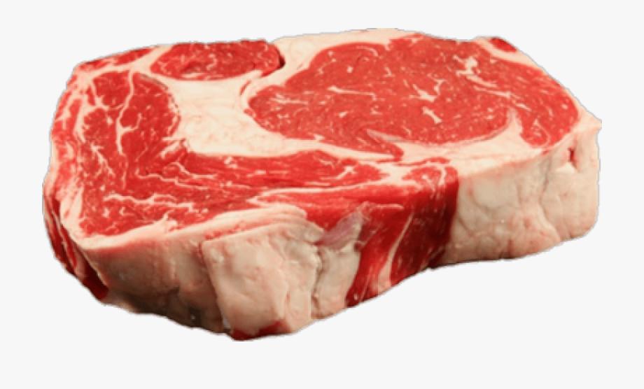Clip Art Ribeye Steak Raw.