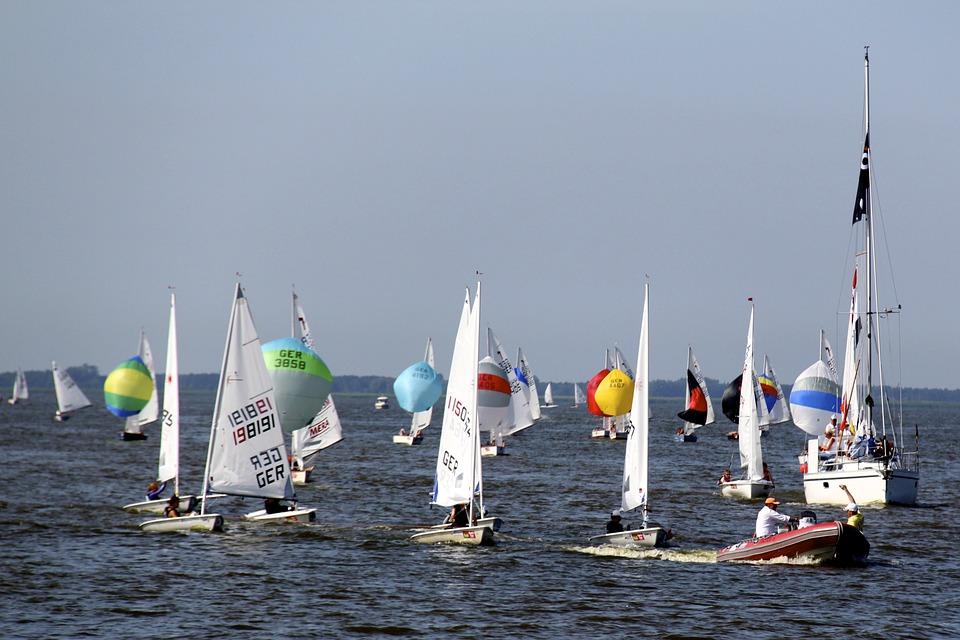 Free photo: Sailing Boats, Sailing, Water.