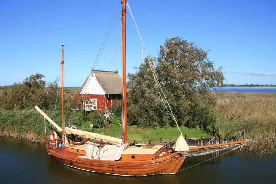 免费照片: 帆船, 帆, 波罗的海, 水, 休闲, 假期, Ribnitz Ut.