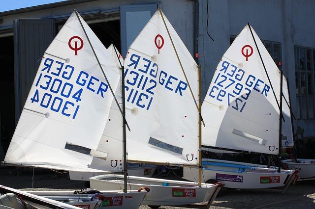 Free photo: Sail, Sailing Boat, Boats, Optimist.