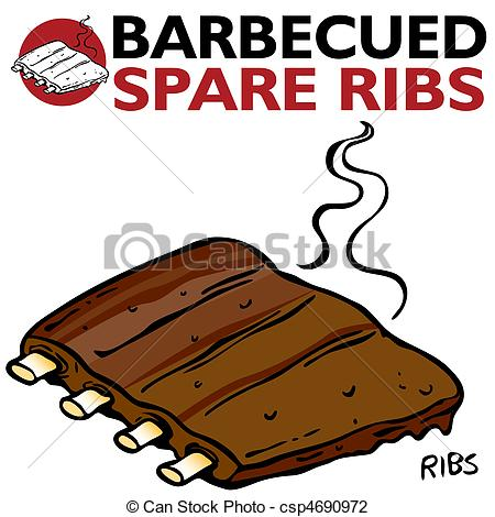 Barbecue ribs Vector Clip Art Royalty Free. 634 Barbecue ribs.
