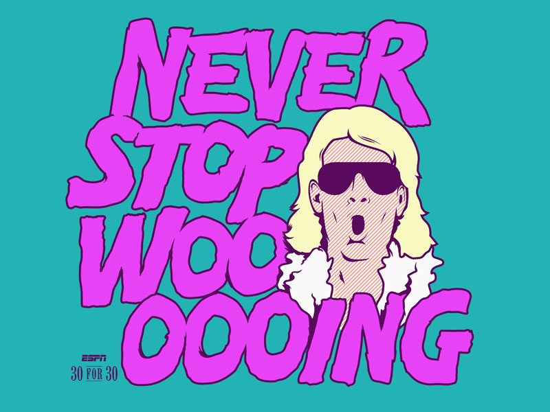 Never Stop Wooing by Colin Gauntlett on Dribbble.