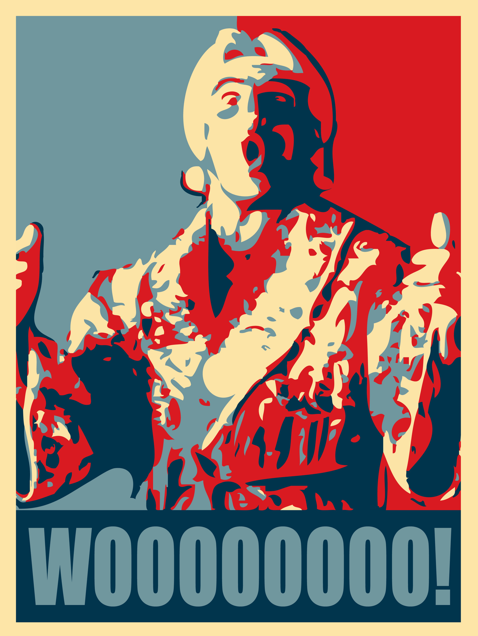 Why Not Have The Nature Boy In The White House, Baby.