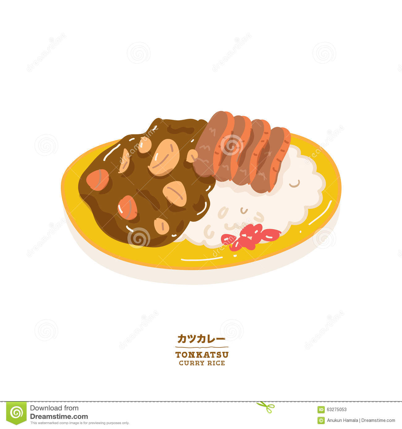 Curry Stock Illustrations.