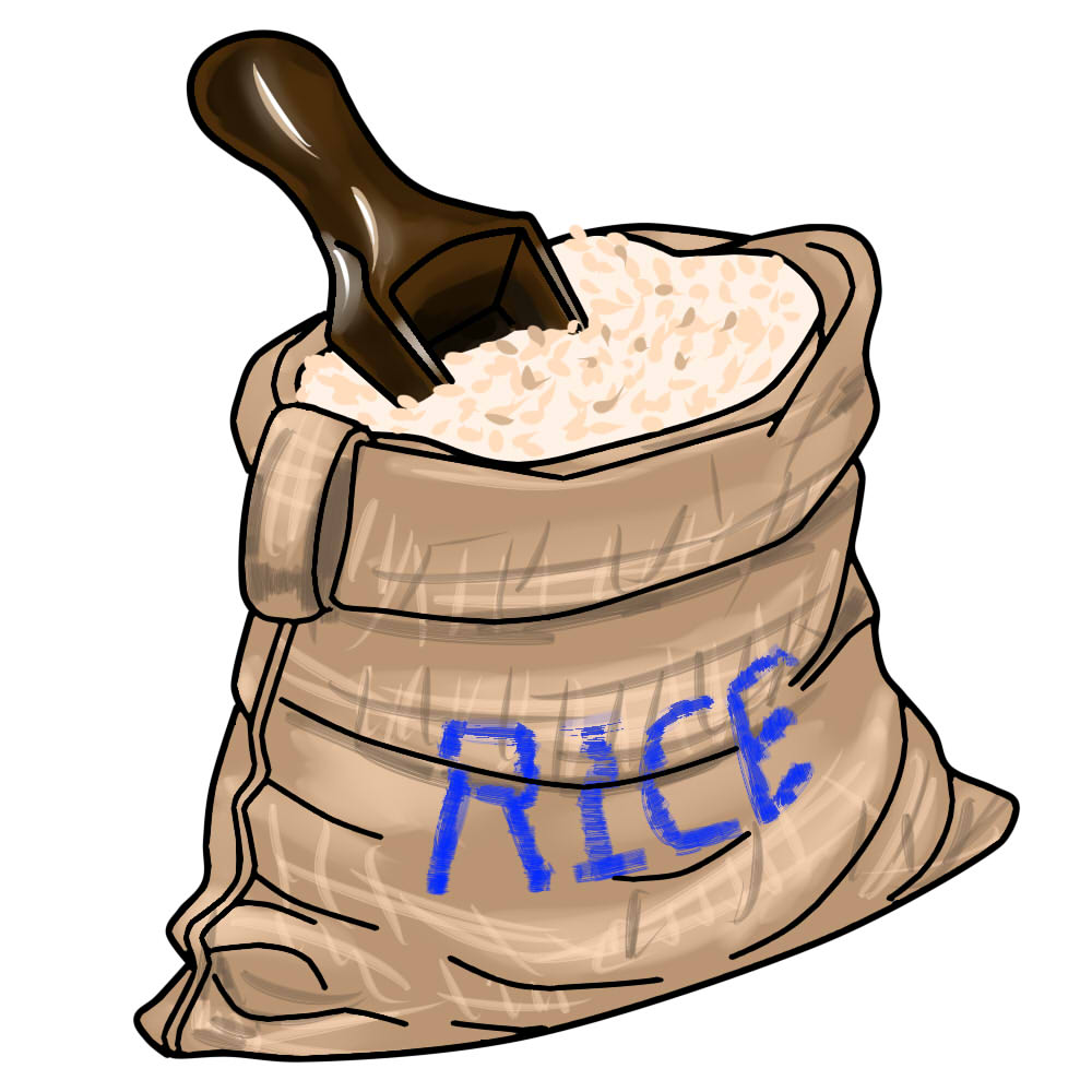 Rice bag clipart 11 » Clipart Station.