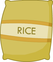 Sack Of Rice PNG Transparent Sack Of Rice.PNG Images..