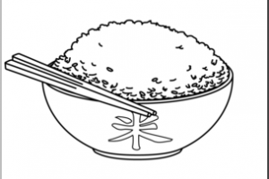 Rice clipart black and white 1 » Clipart Portal.