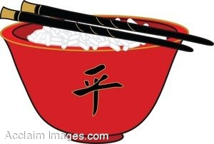 Clip Art Chinese Bowl Clipart.