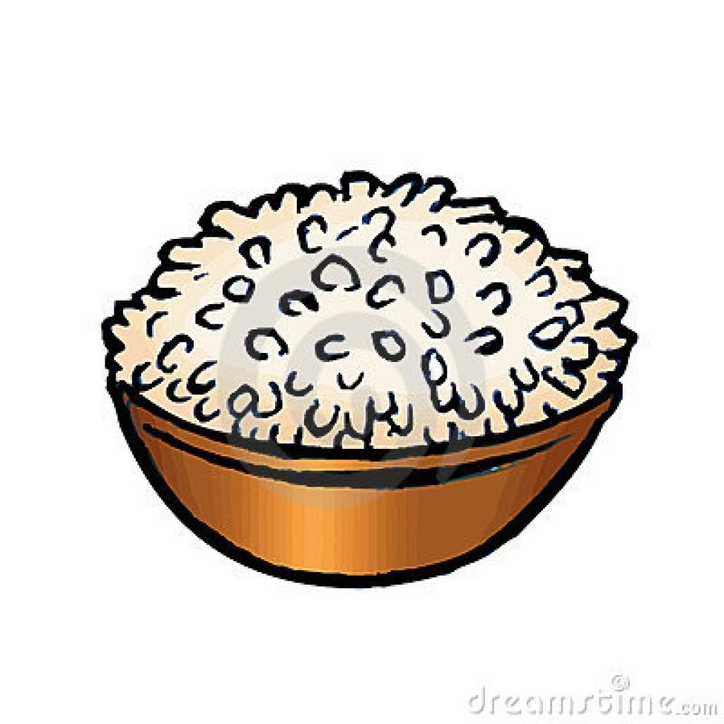 clipart rice bowl rice bowl stock illustrations vectors amp.